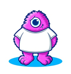 Monster Character vector image vector image
