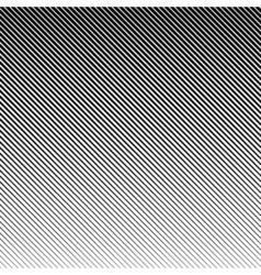 abstract halftone black background Gradient retro vector image vector image