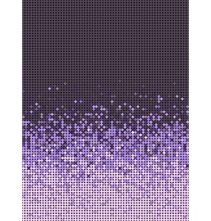 bubble gradient pattern in purple and lavender vector image