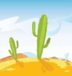 Cactus plants vector