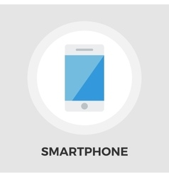 Smartphone flat icon vector image vector image