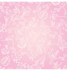 birds wallpaper pattern vector image