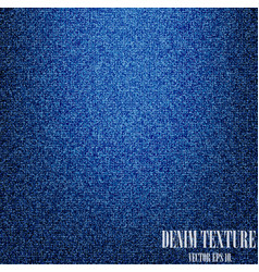 blue denim texture background vector image