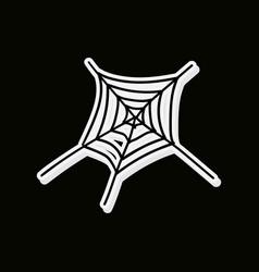 Cobweb icon outline of cobweb icon for web vector