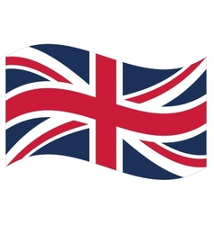 flag Great Britain vector image
