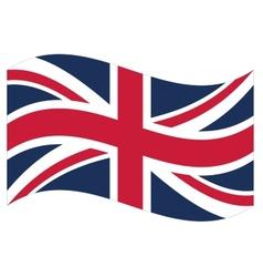 Flag Great Britain vector