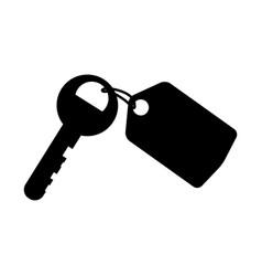 Hotel room keys vector