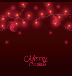 marry christmas cards vector image