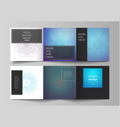 minimal editable layout square format vector image