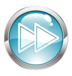 Rewind icon vector
