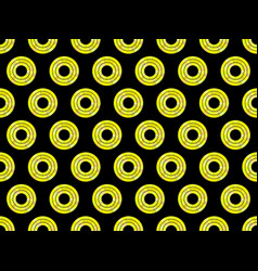seamless pattern with circles bright mosaic vector image
