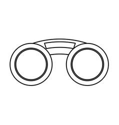 fashion sunglasses isolated vector image