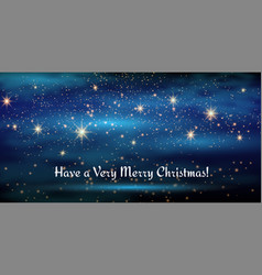 merry christmas and happy new year 2018 gold neon vector image