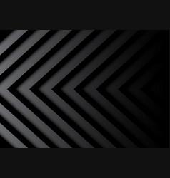 abstract black gray arrows pattern in shadow vector image vector image