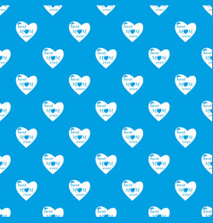 best mother pattern seamless blue vector image