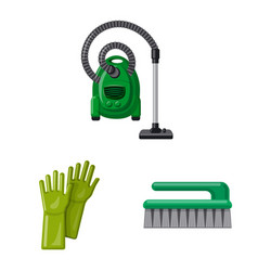 Isolated object of cleaning and service icon vector