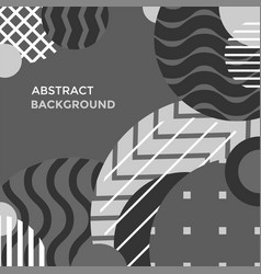 modern abstract minimal design background vector image