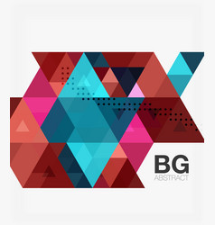 modern geometry background vector image