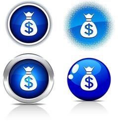 Money buttons vector