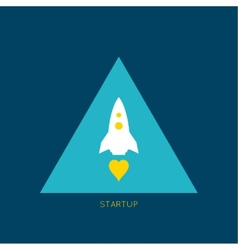 Startup new business project vector