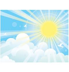 Sunshine vector