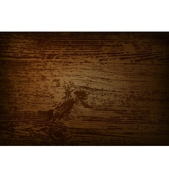 Vintage wooden background with space for your text vector image
