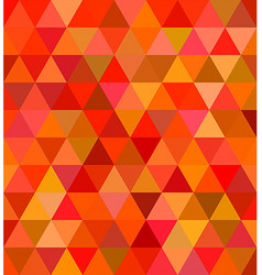 Abstract regular triangle tile mosaic background vector image vector image