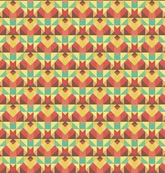 Graphic seamless colorful pattern Flat style vector image vector image