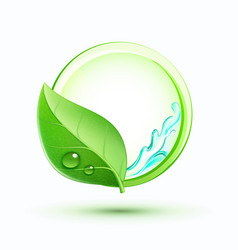 green plant concept vector image