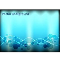 abstract background with circles and lines vector image vector image
