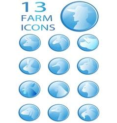 icon animal vector image