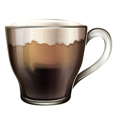 A mug of coffee vector
