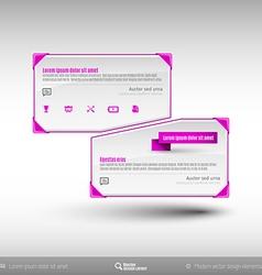 Business Frames vector image