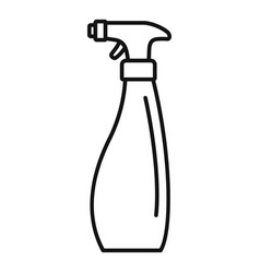 Cleaner spray icon outline style vector