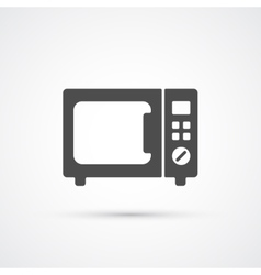 Microwave trendy icon vector image