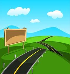 Road vector