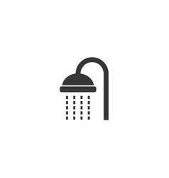 shower icon simple flat style vector image