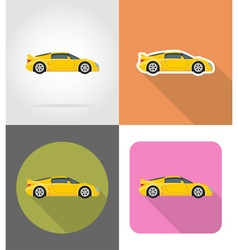 Transport flat icons 43 vector