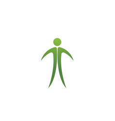 People care success health life logo template icon vector