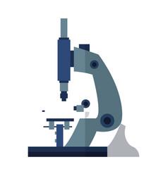 microscope test equipment laboratory study vector image