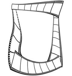 film strips frame vector image