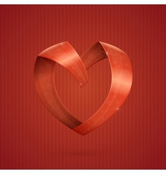 Heart Ribbon vector image