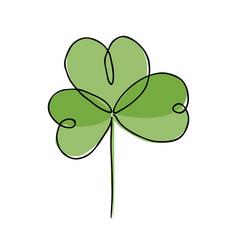irish symbol st patrick vector image