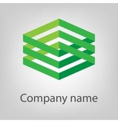 Modern icon design logo element vector image
