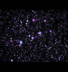 Purpleviolet glitter particles background vector