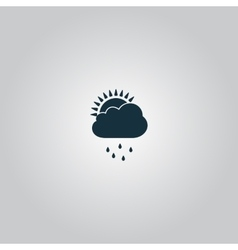 Rainy season vector image