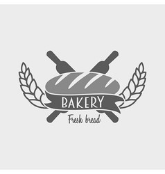 Vintage bakery label badge or logo concept Can be vector