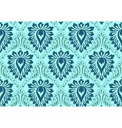 Vintage Floral Baroque Pattern vector image