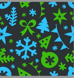 winter season holidays seamless background vector image
