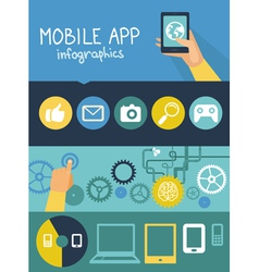 app development vector image
